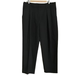 BY MALENE BIRGER Black High-rise Wool Pants